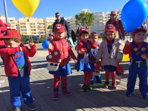 FAA no Desfile de Carnaval