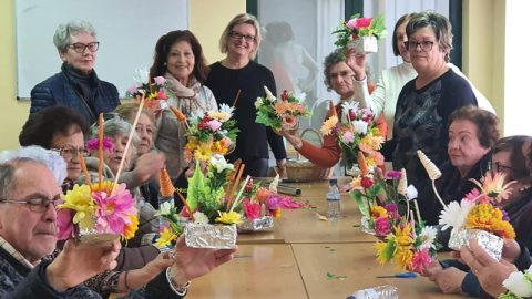 Workshop de Arranjos Florais