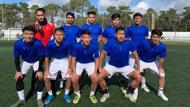 Torneio de Futebol das Comunidades do Nepal no Algarve