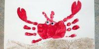Caranguejo (com as mãos)
